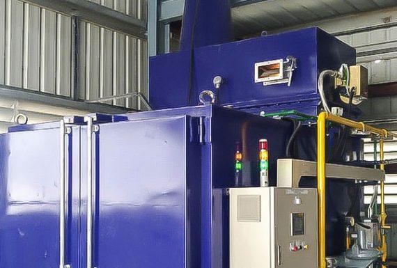 热碳化吊具清洁炉