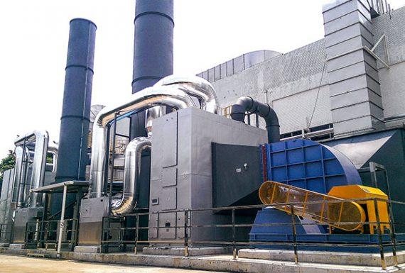 RTO废气处理系统