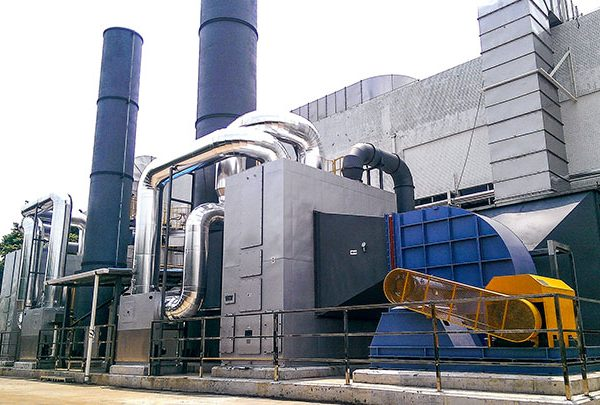 Rto Regenerative Thermal Oxidizer
